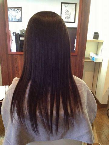 L&M hair 縮毛矯正アフター