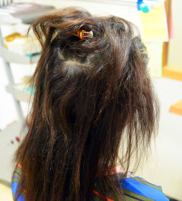 縮毛矯正 ブロー方式 HairSpaceM