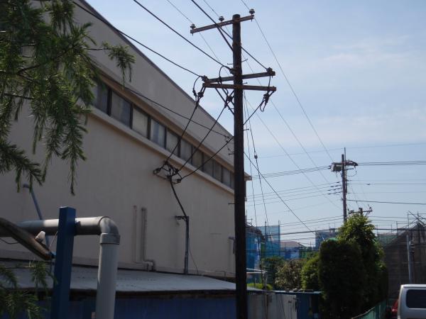 木製電柱14