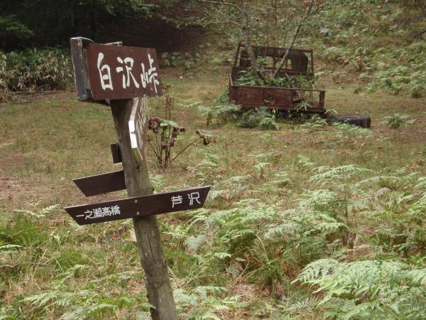 白沢峠廃車3
