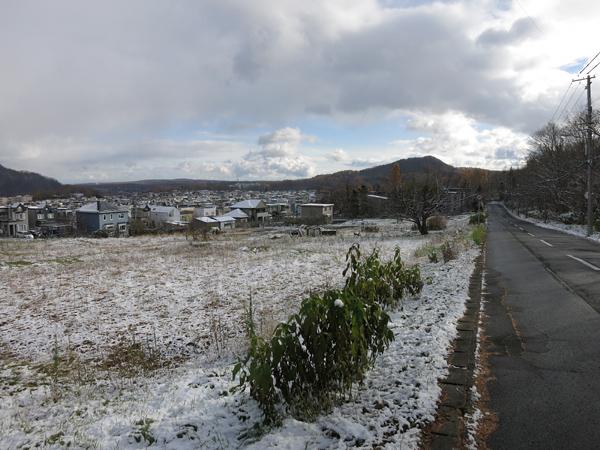 2013 初雪 みはらし通り