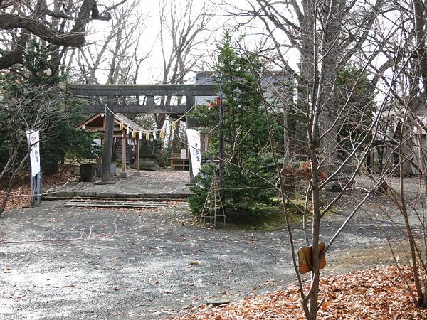 天神山緑地 相馬神社