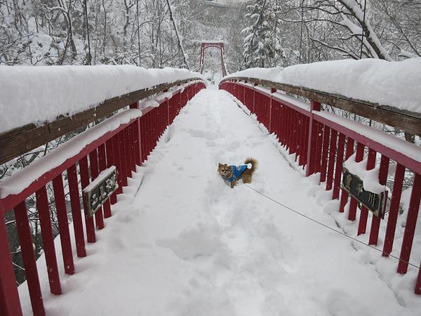 定山渓 二見公園 二見吊り橋