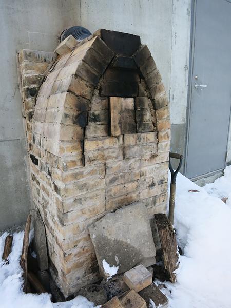 ベルジネ・パッカーノ 石窯