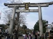 中山神社 鳥居