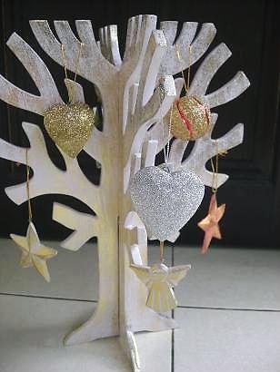 クリスマスツリーオーナメントデコ3