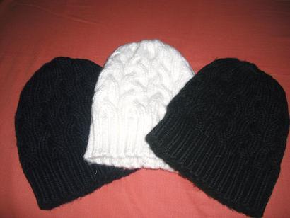 ケーブル帽子2