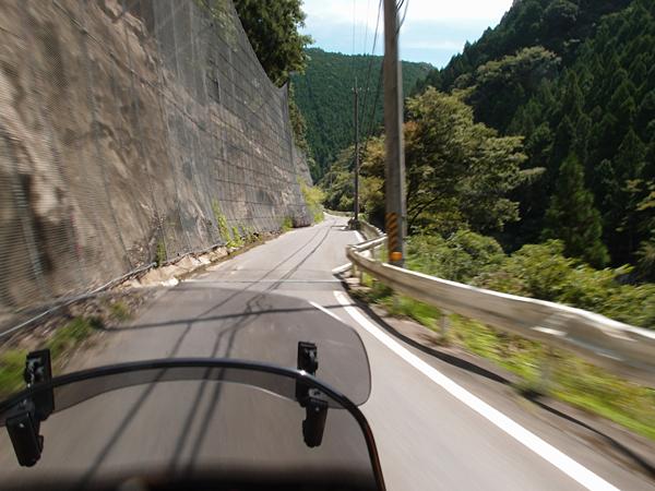 十津川村から白谷トンネルを目指す