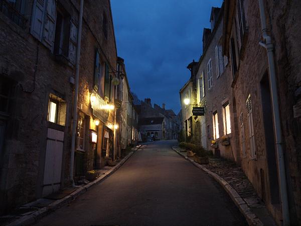 ヴェズレーの夜景1
