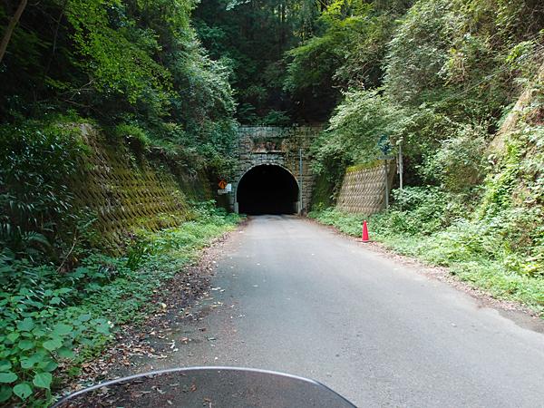 塩降トンネル北側入り口