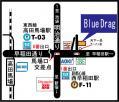 blue drag map