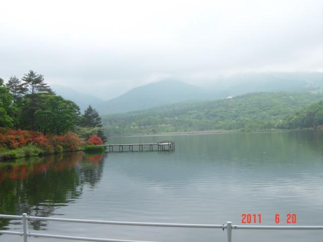 6月のバラギ湖