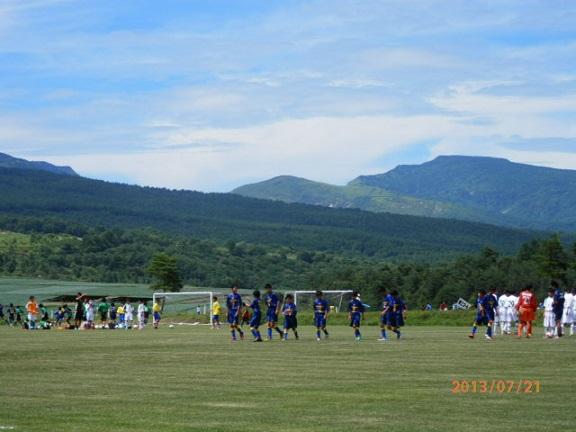 夏季 サッカー合宿