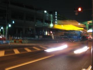 国道15号線側から観た蒲田駅