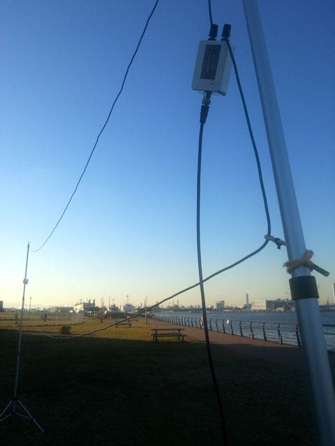 東扇島でFLAGアンテナ(2)