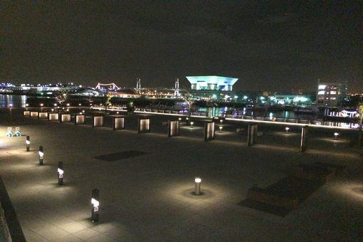 092-海辺夜景