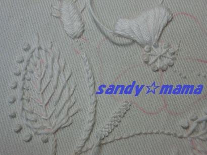ホワイトワークのきんちゃく袋(UP1)