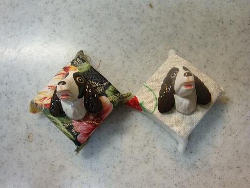 mizuさんからの贈り物(虫ピン) 1
