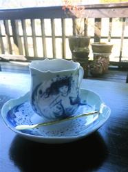 春のお茶1