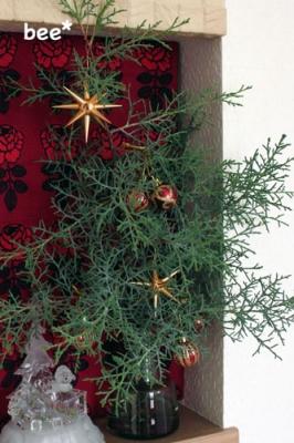 玄関ニッチのクリスマス