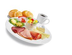 グルメ朝食3.5ユーロドイツ