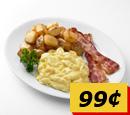 朝食99セントアメリカ
