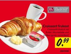 朝食99セントドイツ