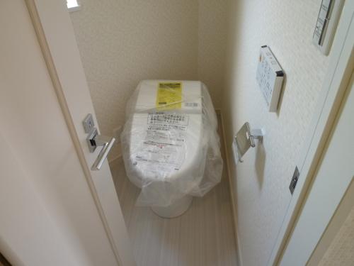 最新機能のトイレです!