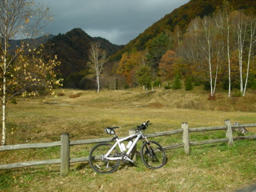 紅葉サイクリング(安ヶ森林道)9