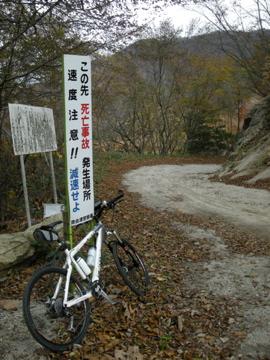 紅葉サイクリング(安ヶ森林道)24