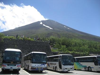 7月 富士山