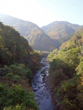 04裾花渓谷