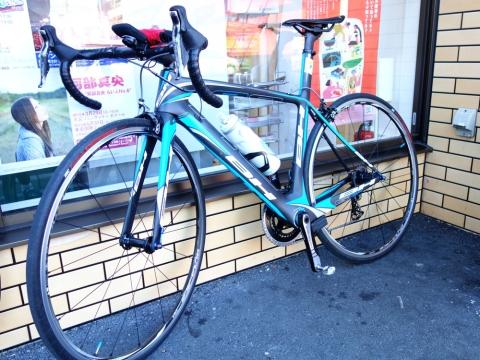 01飯野君のバイク