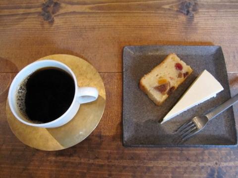 珈琲とケーキ