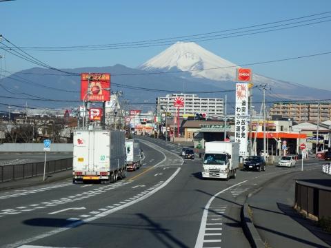 05国道から富士山