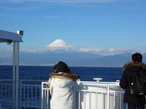 12駿河湾フェリー富士山