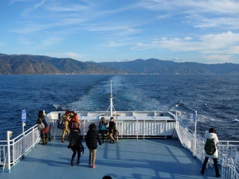 13駿河湾フェリー富士山
