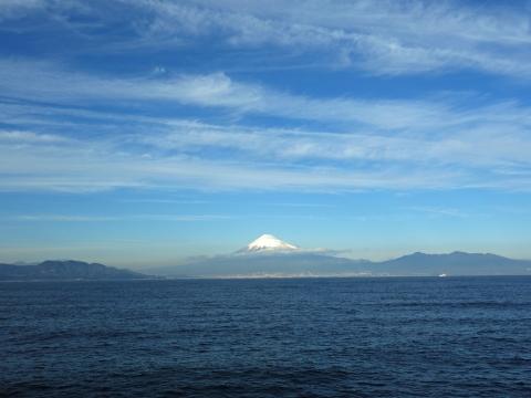 15駿河湾フェリー富士山