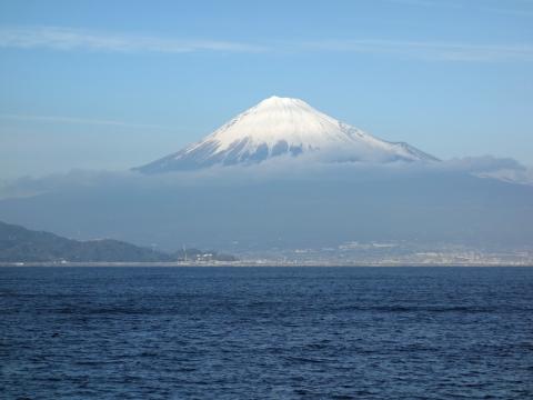 16駿河湾フェリー富士山