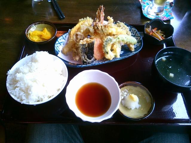 車海老定食