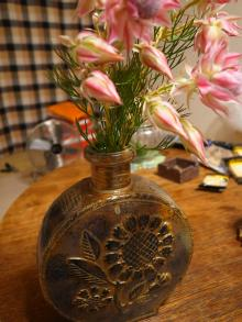 ひまわり花器