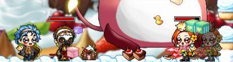 ひろs、ようkとケーキ