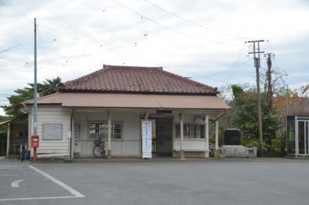 20131119小湊鉄道鶴舞駅01