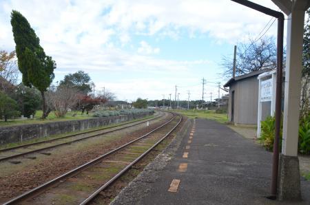 20131119小湊鉄道鶴舞駅07