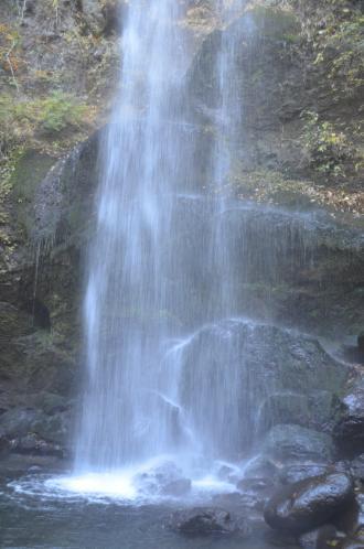 20131129夕日の滝09