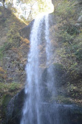 20131129夕日の滝08