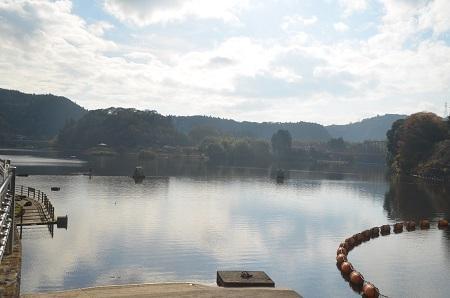 20141121亀山湖・亀山ダム02