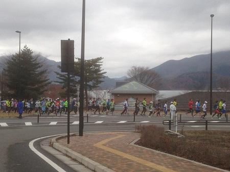 河口湖マラソン2