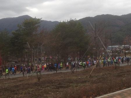 河口湖マラソン1