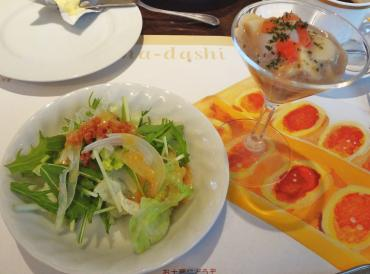 前菜サラダ